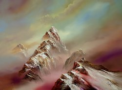 Reaching the Summit VI by Philip Gray -  sized 40x30 inches. Available from Whitewall Galleries